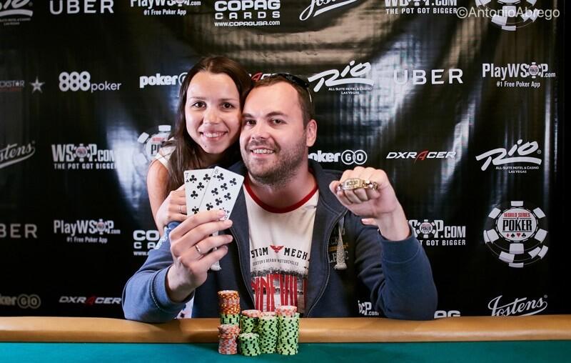 Денис и Катя Тимофеевы на WSOP 2018