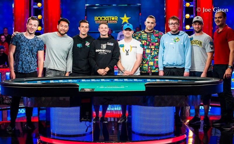 Финалисты WSOP ME 2018