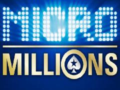 Расписание турниров серии MicroMillions-14 на PokerStars