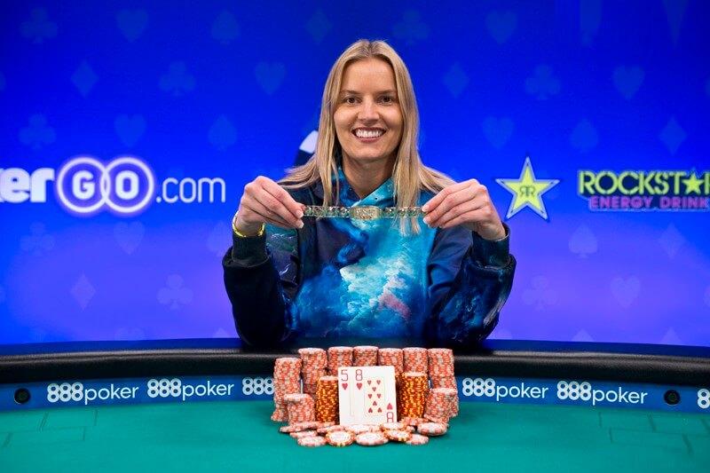 Джессика Доули на WSOP 2018