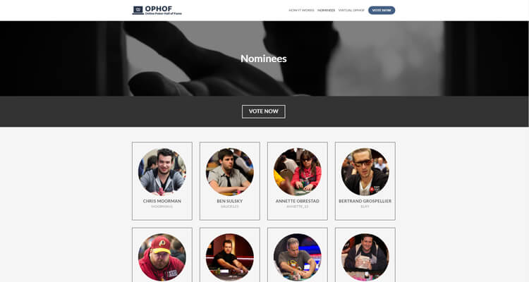Зал Славы онлайн-покера