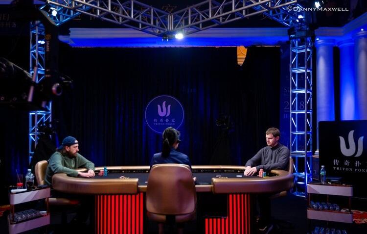 Хедз-ап Triton Poker