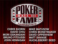 10 кандидатов в Зал Cлавы Покера