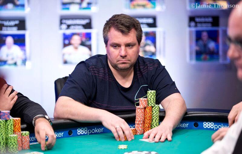 Андрей Заиченко на WSOP 2018