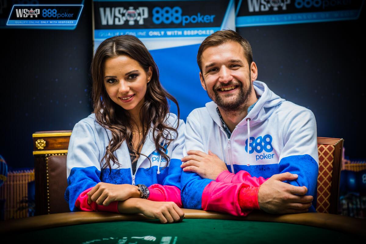 Даша Фещенко и Георгий Филиппович на WSOP  2018