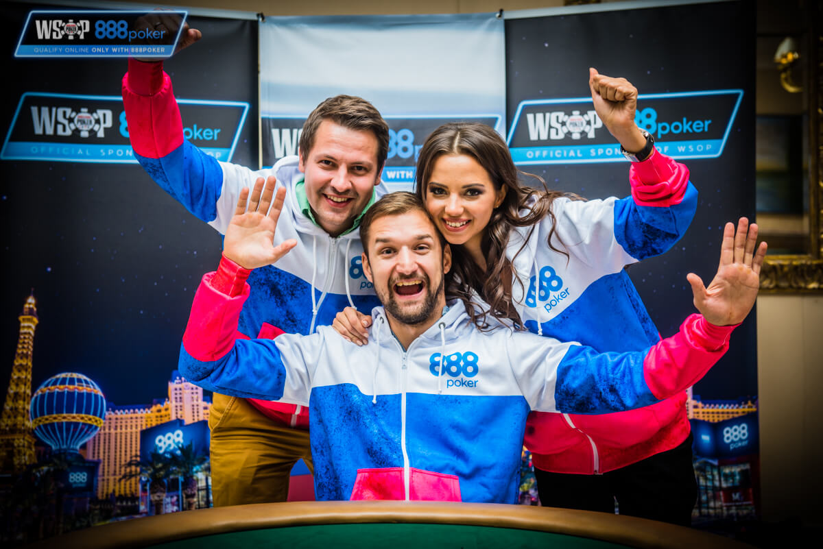 8-Team Russia на WSOP 2018