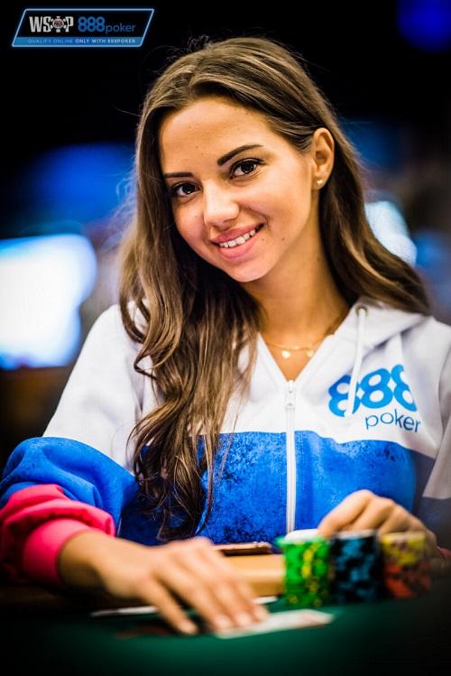 Даша Фещенко на WSOP 2018