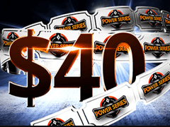 Partypoker: new players will receive 40$ as a gift