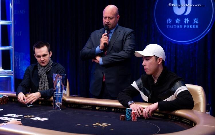 Хедз-ап Мейн Ивента Triton Poker 2018