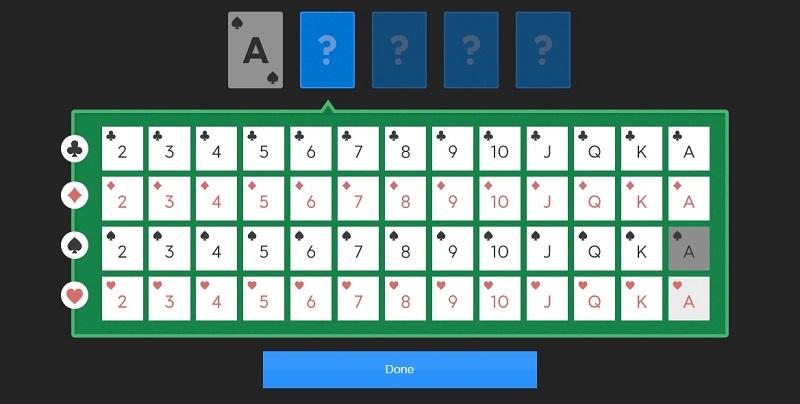 Cards in poker calculator