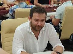 Евгений Качалов сыграл в покерном турнире в Киеве