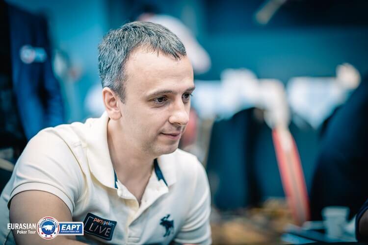 Михаил Сёмин на EAPT Altai 2018