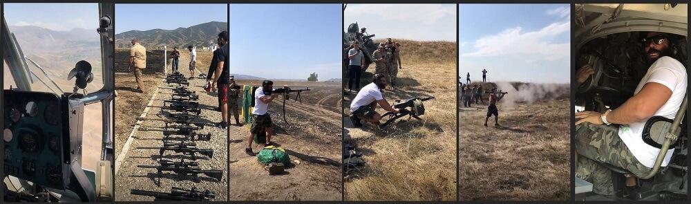 Дэн Билзерян в Армении