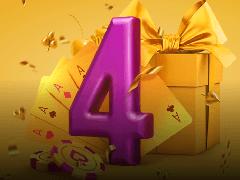 Pokerdom: 4 подарка для игроков в честь дня рождения