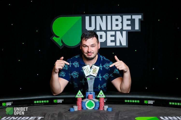 Антон Винокуров на Unibet Open Bucharest 2018
