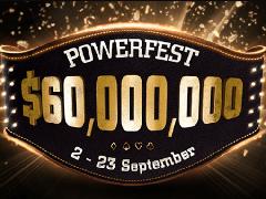Powerfest от Partypoker: 670 турниров в расписании серии