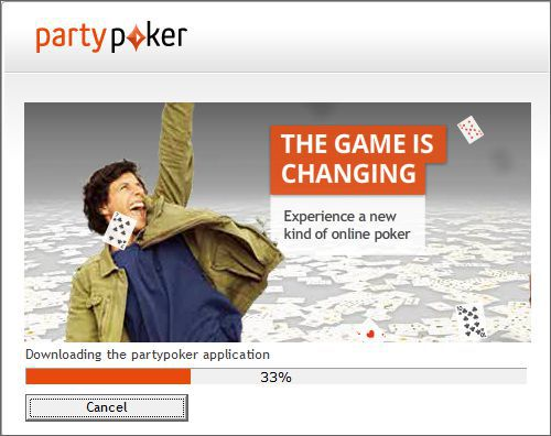 partypoker installation