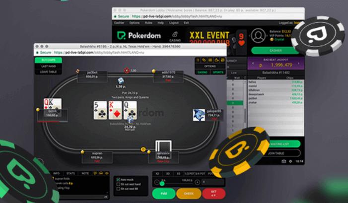 PokerDom deposit