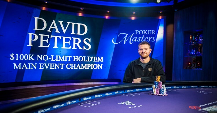Дэвид Питерс на Poker Masters Main Event