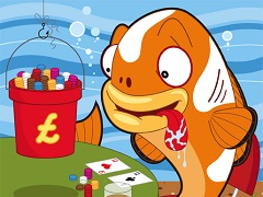 How to define a fish in online poker without any software?
