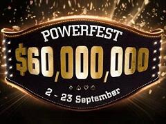 Powerfest: выбей покер-про и получи билет в турнир чемпионов с гарантией 1 000 000$
