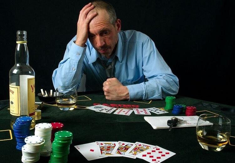 Поражение в покере