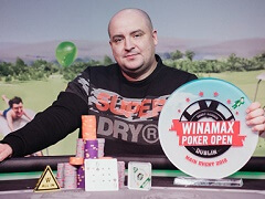 Карл Войцеховский выиграл Мейн Ивент Winamax Poker Open