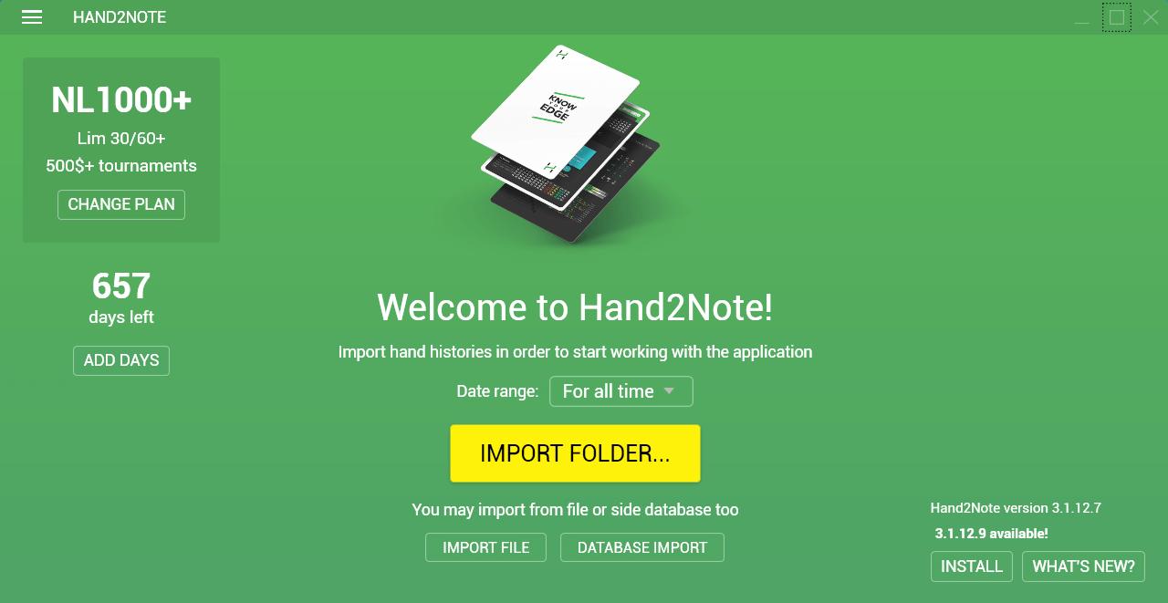 Hand2Note program