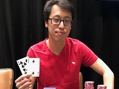 American player Michael Wang won two rings at WSOP Circuit