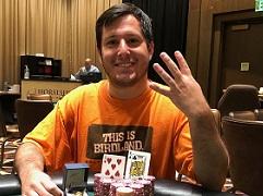 Американец Вердерамо выиграл четвертый перстень WSOP Circuit