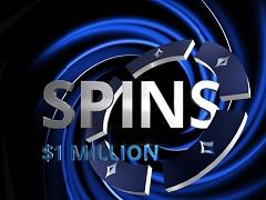 Выиграй 1 000 000$ за 5 минут в Spins на PartyPoker