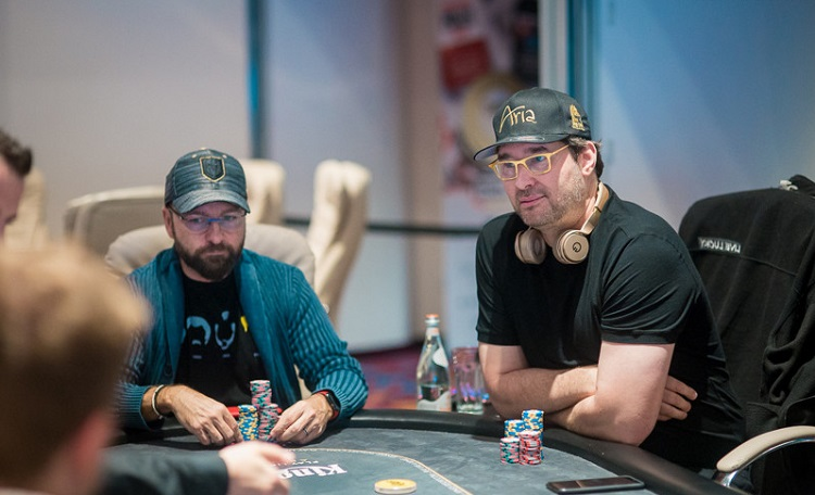 Negreanu and Hellmuth 2019