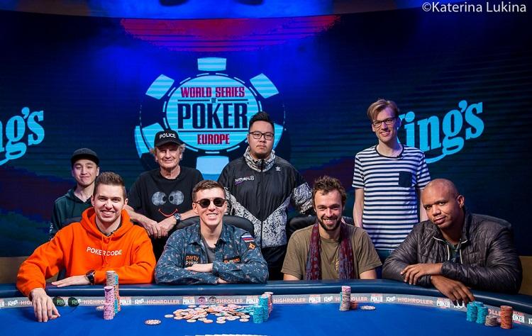 Филатов выиграл 1 000 000$ в WSOPE Diamond High Roller