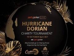 PartyPoker собрали 250 000$ в поддержку жертвам урагана Дориан