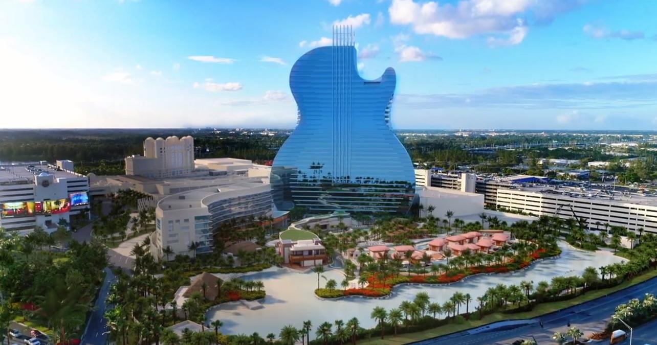 Seminole Hard Rock Guitar