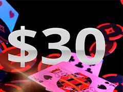 PartyPoker дарит бесплатные билеты стоимостью 30$ на турниры Spins