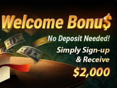 $2 000 Welcome Bonus at BestPoker