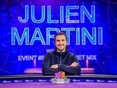 Жульен Мартини: от 0,5 ББ до чемпиона Poker Masters Big Bet Mix