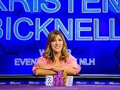 Бикнелл выиграла крупнейшие призовые в карьере на Poker Masters