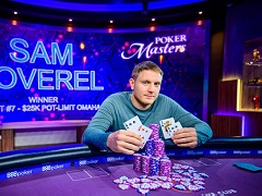 Sam Soverel won PLO tournament for $25 000 at Poker Masters