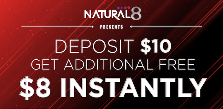 Natural8 poker-room promotion