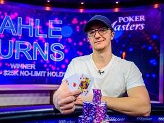 Кале Бернс выиграл 416 000$ в турнире Poker Masters