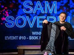 Sam Soverel took down ME Poker Masters and Purple Jacket