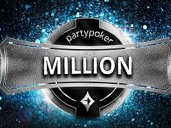 PartyPoker Million прошел с оверлеем 100 000$