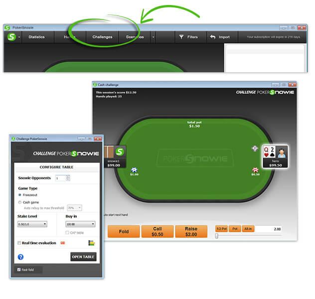 PokerSnowie Challenge