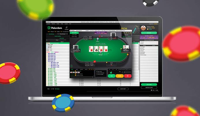 PokerDom on computer
