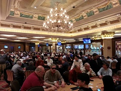 The Venetian event with fixed guarantee of $150K was held after all