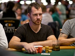 Dan Cates struck a double blow to PartyPoker