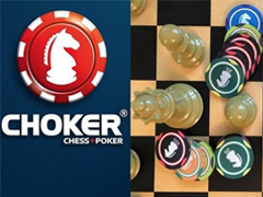 "Poker and chess: new game ""Choker"""