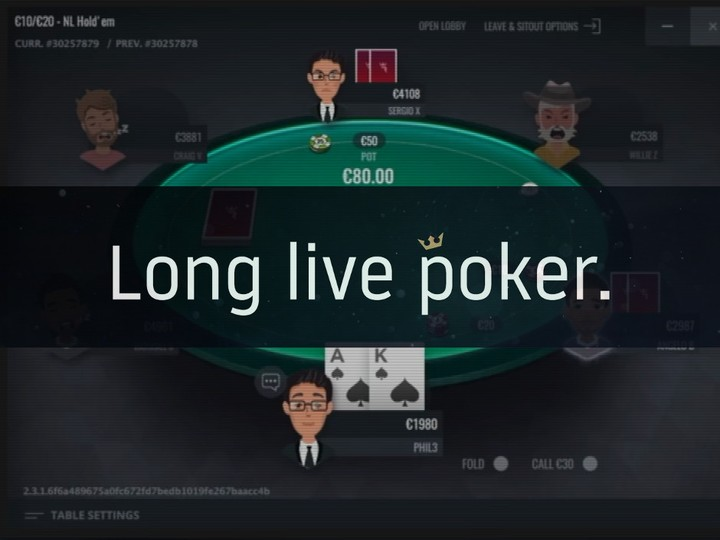 Run It Once Poker 2019